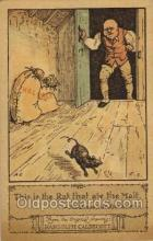 nur001175 - Artist Randolph Caldecott Nursery Rhyme Postcard Post Card Old Vintage Antique
