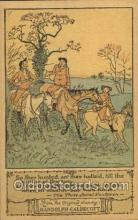 nur001177 - Artist Randolph Caldecott Nursery Rhyme Postcard Post Card Old Vintage Antique