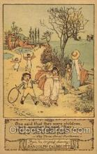 nur001178 - Artist Randolph Caldecott Nursery Rhyme Postcard Post Card Old Vintage Antique