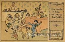 nur001204 - Artist Randolph Caldecott Nursery Rhyme Postcard Post Card Old Vintage Antique