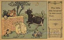 nur001205 - Artist Randolph Caldecott Nursery Rhyme Postcard Post Card Old Vintage Antique