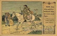 nur001207 - Artist Randolph Caldecott Nursery Rhyme Postcard Post Card Old Vintage Antique