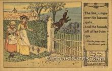 nur001209 - Artist Randolph Caldecott Nursery Rhyme Postcard Post Card Old Vintage Antique
