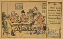 nur001210 - Artist Randolph Caldecott Nursery Rhyme Postcard Post Card Old Vintage Antique