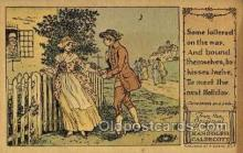 nur001212 - Artist Randolph Caldecott Nursery Rhyme Postcard Post Card Old Vintage Antique
