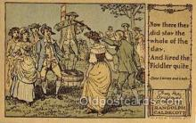 nur001213 - Artist Randolph Caldecott Nursery Rhyme Postcard Post Card Old Vintage Antique