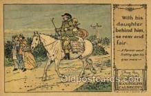 nur001215 - Artist Randolph Caldecott Nursery Rhyme Postcard Post Card Old Vintage Antique