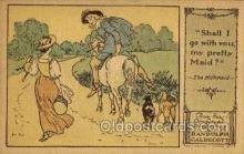 nur001217 - Artist Randolph Caldecott Nursery Rhyme Postcard Post Card Old Vintage Antique