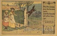 nur001220 - Artist Randolph Caldecott Nursery Rhyme Postcard Post Card Old Vintage Antique