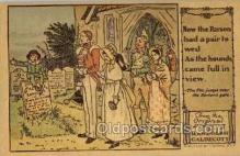 nur001221 - Artist Randolph Caldecott Nursery Rhyme Postcard Post Card Old Vintage Antique