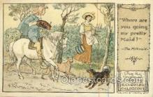 nur001228 - The milkmaid Original Drawings By Randolph Caldecott, Published by F. Warne & Co.