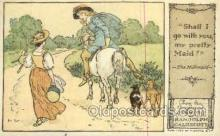 nur001229 - The milkmaid Original Drawings By Randolph Caldecott, Published by F. Warne & Co.