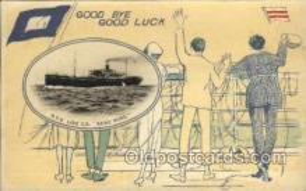 nyk001003 - S.S. Kamo Maru Nippon Yusen Kaisha Ship, NYK Shipping Postcard Postcards