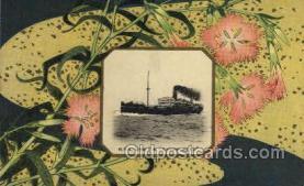 nyk001008 - S.S. Katori Maru Nippon Yusen Kaisha Ship, NYK Shipping Postcard Postcards