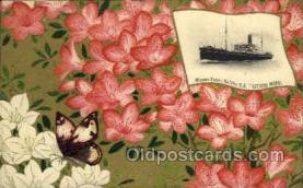 nyk001014 - S.S. Katano Maru Nippon Yusen Kaisha Ship, NYK Shipping Postcard Postcards