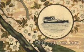 nyk001016 - S.S. Taiyo Maru Nippon Yusen Kaisha Ship, NYK Shipping Postcard Postcards