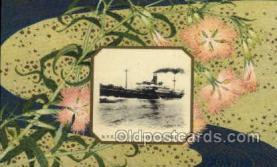 nyk001026 - S.S. Hakusan Maru Nippon Yusen Kaisha Ship, NYK Shipping Postcard Postcards
