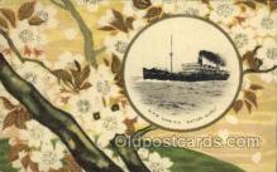 nyk001029 - S.S. Katori Maru Nippon Yusen Kaisha Ship, NYK Shipping Postcard Postcards