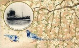 nyk001031 - S.S. Katori Maru Nippon Yusen Kaisha Ship, NYK Shipping Postcard Postcards