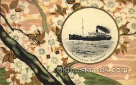 nyk001036 - S.S. Katori Maru Nippon Yusen Kaisha Ship, NYK Shipping Postcard Postcards