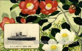 nyk001059 - S.S. Shinyo Maru Nippon Yusen Kaisha Ship, NYK Shipping Postcard Postcards