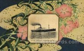 nyk001069 - S.S. Fushimi Maru Nippon Yusen Kaisha Ship, NYK Shipping Postcard Postcards