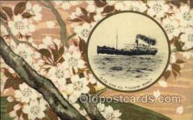 nyk001075 - S.S. Fushimi Maru Nippon Yusen Kaisha Ship, NYK Shipping Postcard Postcards