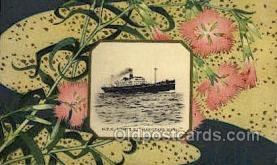 nyk001076 - S.S. Hakozaki Maru Nippon Yusen Kaisha Ship, NYK Shipping Postcard Postcards