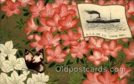 nyk001080 - S.S. Fushimi Maru Nippon Yusen Kaisha Ship, NYK Shipping Postcard Postcards
