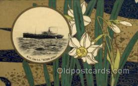 nyk001083 - S.S. Kitano Maru  Nippon Yusen Kaisha Ship, NYK Shipping Postcard Postcards