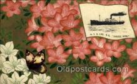 nyk001091 - S.S. Hakone Maru Nippon Yusen Kaisha Ship, NYK Shipping Postcard Postcards