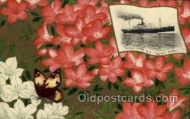 nyk001093 - S.S. Suwa Maru Nippon Yusen Kaisha Ship, NYK Shipping Postcard Postcards