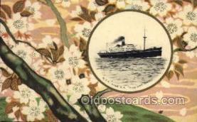 nyk001098 - S.S. Hakone Maru Nippon Yusen Kaisha Ship, NYK Shipping Postcard Postcards