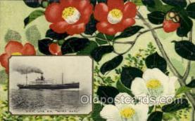 nyk001102 - S.S. Suwa Maru Nippon Yusen Kaisha Ship, NYK Shipping Postcard Postcards