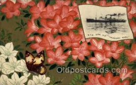 nyk001104 - S.S. Nagasaki Maru Nippon Yusen Kaisha Ship, NYK Shipping Postcard Postcards