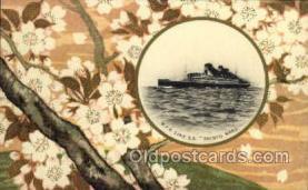 nyk001106 - S.S. Shinyo Maru Nippon Yusen Kaisha Ship, NYK Shipping Postcard Postcards