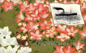 nyk001109 - S.S. Suwa Maru Nippon Yusen Kaisha Ship, NYK Shipping Postcard Postcards