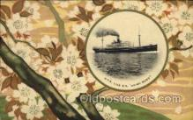 nyk001110 - S.S. Suwa Maru Nippon Yusen Kaisha Ship, NYK Shipping Postcard Postcards