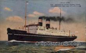 nyk001127 - S.S. Shanghai Maru Nippon Yusen Kaisha Ship, NYK Shipping Postcard Postcards