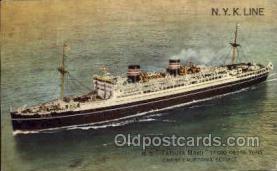 nyk001130 - S.S. Tatsuta Maru Nippon Yusen Kaisha Ship, NYK Shipping Postcard Postcards