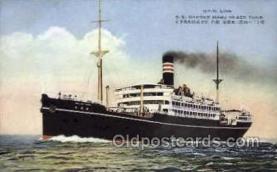 nyk001137 - S.S. Hakone Maru Nippon Yusen Kaisha Ship, NYK Shipping Postcard Postcards