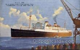 nyk001141 - S.S. Asama Maru Nippon Yusen Kaisha Ship, NYK Shipping Postcard Postcards