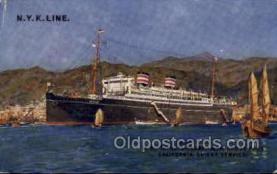 nyk001142 - S.S. Tatsuta Maru Nippon Yusen Kaisha Ship, NYK Shipping Postcard Postcards