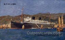 nyk001143 - S.S. Tatsuta Maru Nippon Yusen Kaisha Ship, NYK Shipping Postcard Postcards