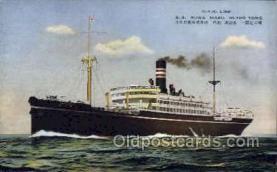 nyk001155 - S.S. Suwa Maru Nippon Yusen Kaisha Ship, NYK Shipping Postcard Postcards