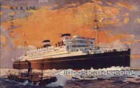 nyk001161 - S.S. Asama Maru Nippon Yusen Kaisha Ship, NYK Shipping Postcard Postcards