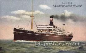 nyk001164 - S.S. Kashima Maru Nippon Yusen Kaisha Ship, NYK Shipping Postcard Postcards