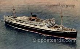 nyk001169 - S.S. Chichibu Maru Nippon Yusen Kaisha Ship, NYK Shipping Postcard Postcards