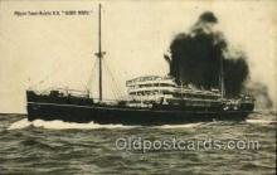 nyk001170 - S.S. Suwa Maru Nippon Yusen Kaisha Ship, NYK Shipping Postcard Postcards