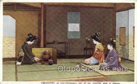 nyk001210 - Chanoyo or Teqa Ceremony Nippon Yusen Kaisha Ship, NYK Shipping Postcard Postcards